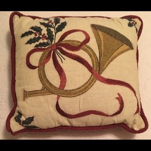 Other - Christmas horn pillow